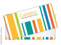 Cartão de Visita SEM VERNIZ - c/ 2 Cantos Arredondados - 4x4 cores (COM VERSO)