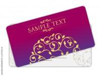 Cartão de Visita 4 Cantos Arredondados - Verniz UV Total Brilho - 4x0 cores (SEM VERSO)